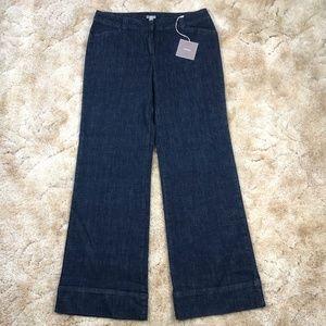 J.Jill Indigo Full Leg Trouser Jeans size 12